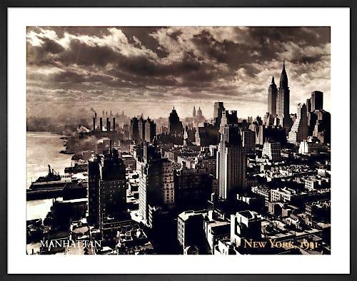 Manhattan, New York, 1931 by Anonymous