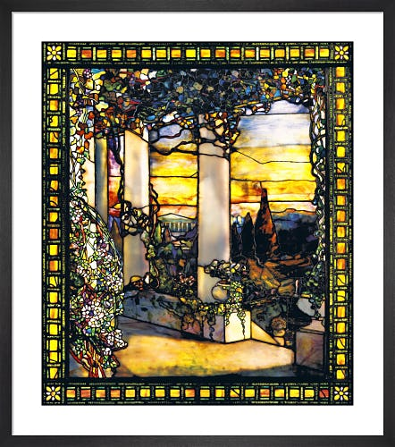 Landscape with a Greek Temple, c.1900-01 by Louis Comfort Tiffany