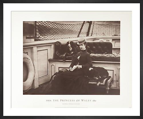 HRH The Princess of Wales, 1880 by Symonds & Co