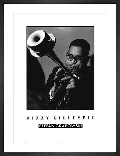 Dizzy Gillespie by Stephan Grabowski