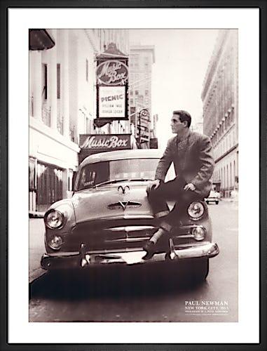Paul Newman, New York City, 1953 by E. Peter Schroeder
