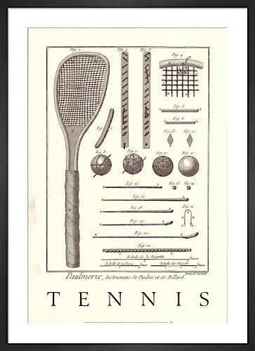 Tennis by Bernard Direxit