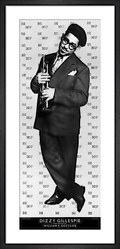 Dizzy Gillespie by William P. Gottlieb