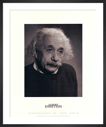 Albert Einstein by Fred Stein