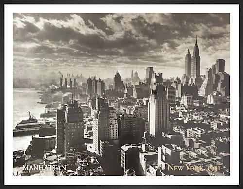 Manhattan, New York 1931 by Anonymous