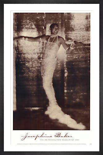 Josephine Baker, 1925-26 by Adolph de Meyer
