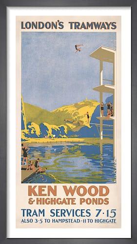 Ken Wood & Highgate Ponds by Van Jones