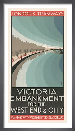 Victoria Embankment For The West End & City by Ralph & Brown Studios