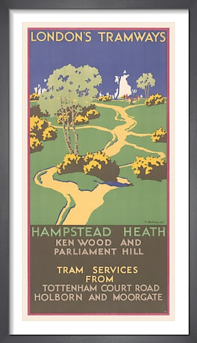 Hampstead Heath Ken Wood And Parliament Hill by A. Murray