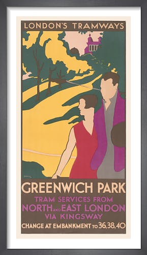 Greenwich Park Tram Services by R.P. Sleeman