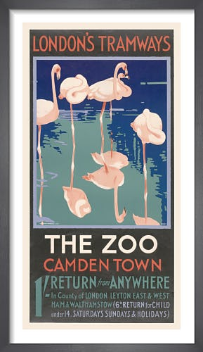 The Zoo Camden Town by F. Marsden Lea