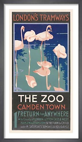 The Zoo Camden Town by F. Marsden Lea