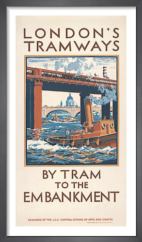 By Tram To The Embankment by Herbert K. Rooke