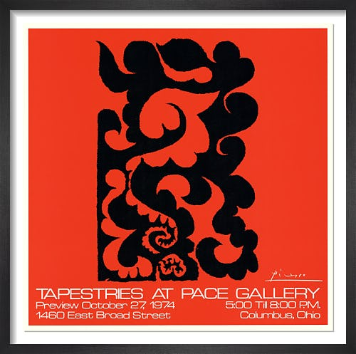 Tapestries at Pace Gallery (1974) by Pablo Picasso