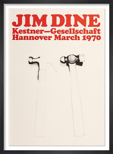 Hammers 1970 by Jim Dine