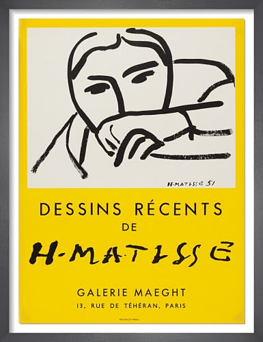 Dessins Recents, 1952 by Henri Matisse
