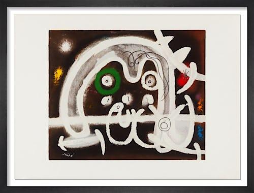 Personnage et Oiseau, 1984 by Joan Miro