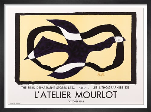 L'Atelier Mourlot by Georges Braque
