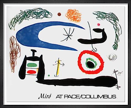 Dormir sous la Lune by Joan Miro