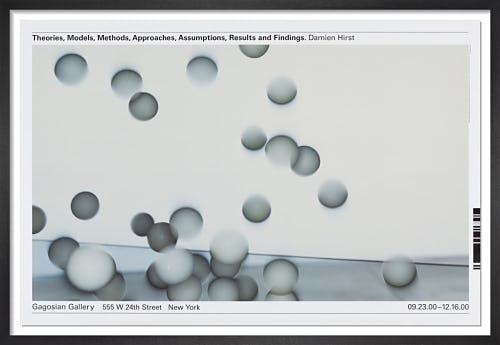 Theories, Models, Methods, Approaches, Assumptions, Results and Findings (2000) by Damien Hirst