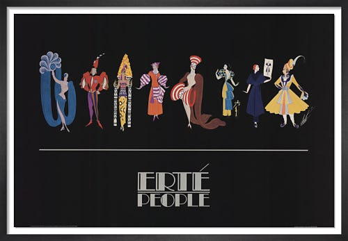 Fashion People by Erte