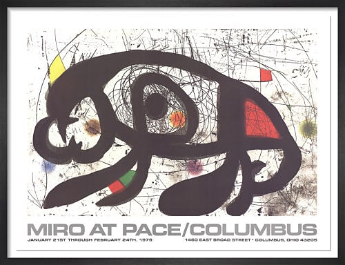 At Pace Columbus (horizontal) by Joan Miro