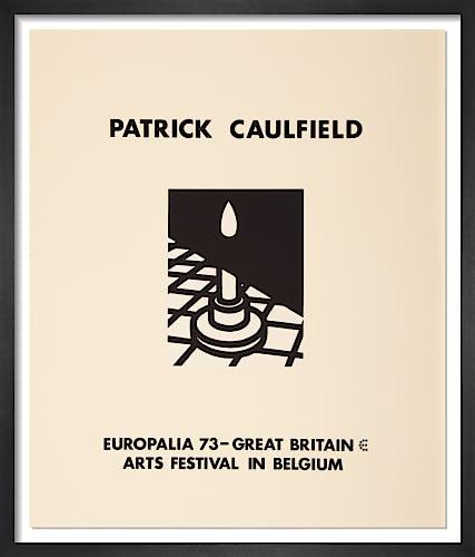 Europalia 1973 by Patrick Caulfield