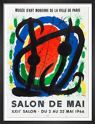 Salon de Mai, 1966 by Joan Miro