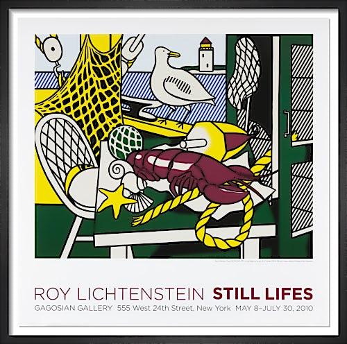 Cape Cod Still Life II (1973) by Roy Lichtenstein