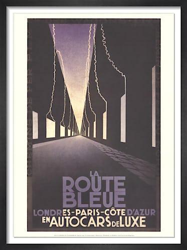 La Route Bleue by A.M. Cassandre