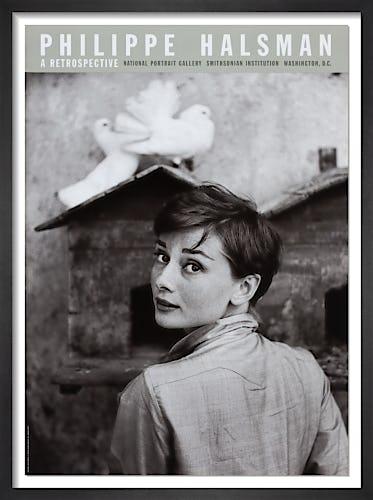 Audrey Hepburn, 1955 by Philippe Halsman
