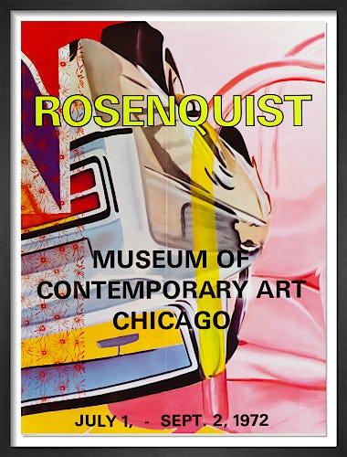 MOCA Chicago 1972 by James Rosenquist