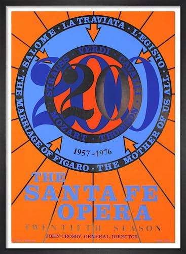 The Santa Fe Opera (1976) by Robert Indiana