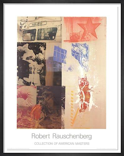 Favor Rites by Robert Rauschenberg