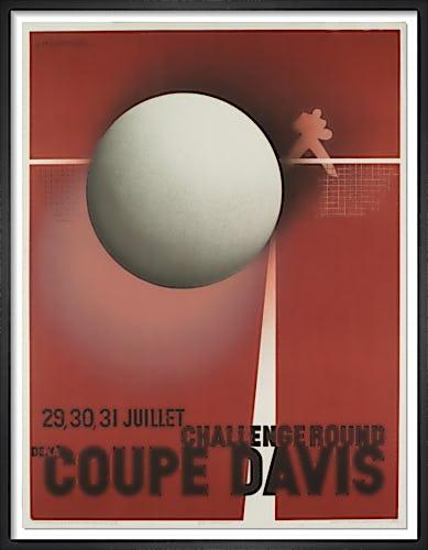 Coupe Davis by A.M. Cassandre