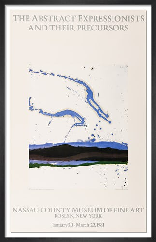 By The Sea, 1962 - Nassau County Museum 1981 by Robert Motherwell
