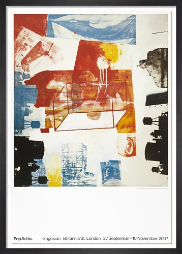Transom (1963) by Robert Rauschenberg