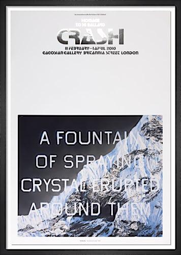 Fountain of Crystal (2009) by Ed Ruscha