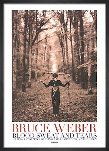 Lady Balancing Branch by Bruce Weber