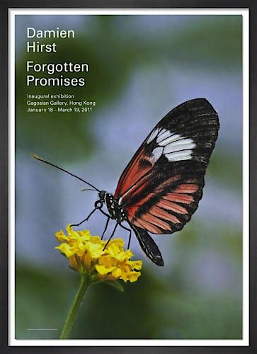 Forgotten Promises (Heliconius melpomene in Aster) (2011) by Damien Hirst