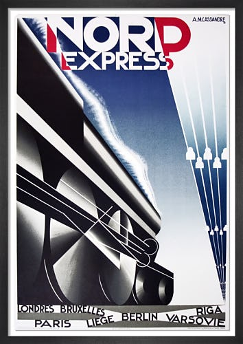 Nord Express by A.M. Cassandre