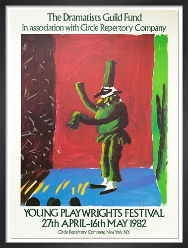 Young Playwrights Festival 1982 by David Hockney