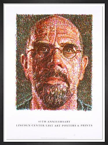 Self Portrait (2007) by Chuck Close