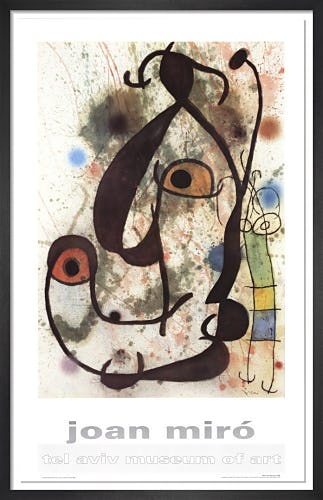Man and Woman by Joan Miro
