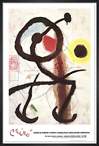 The Bird by Joan Miro