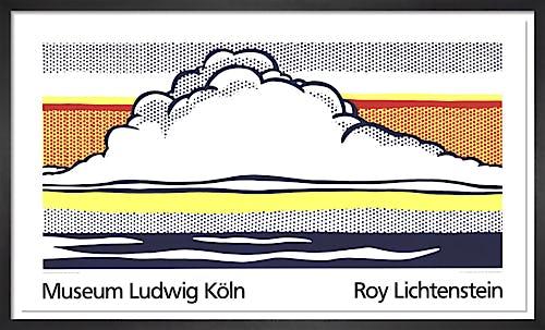 Cloud And Sea by Roy Lichtenstein