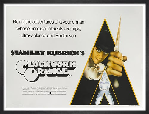 A Clockwork Orange (1971) by Vintage Kubrick