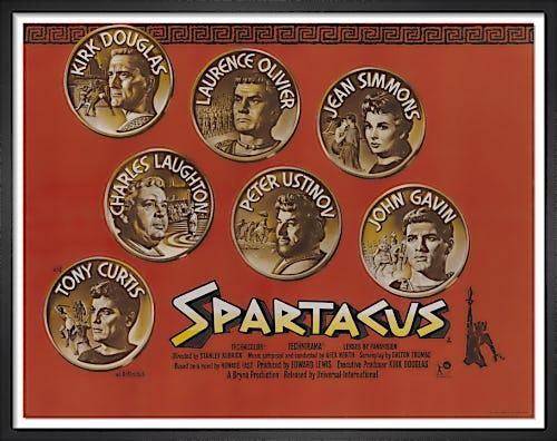 Spartacus (1960) by Vintage Kubrick