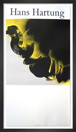 Untitled (1985) by Hans Hartung