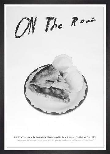 On the Road: An Artist Book of the Classic Novel by Jack Kerouac (Poster C) by Ed Ruscha